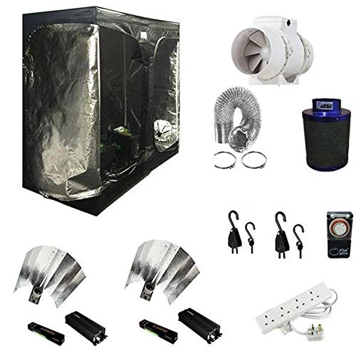 City Hydroponics 600w Digital Grow Tent KIT 120cm x 240cm x 200cm