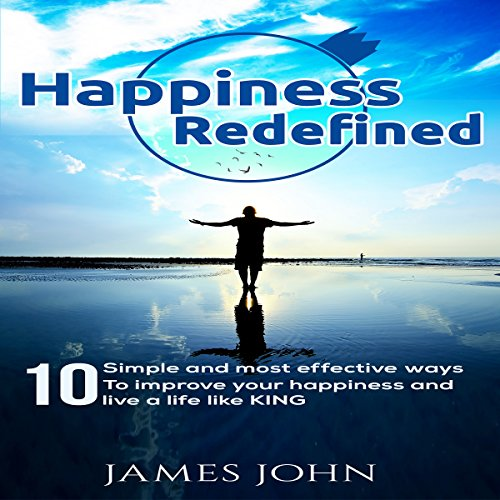 Happiness Redefined audiobook cover art