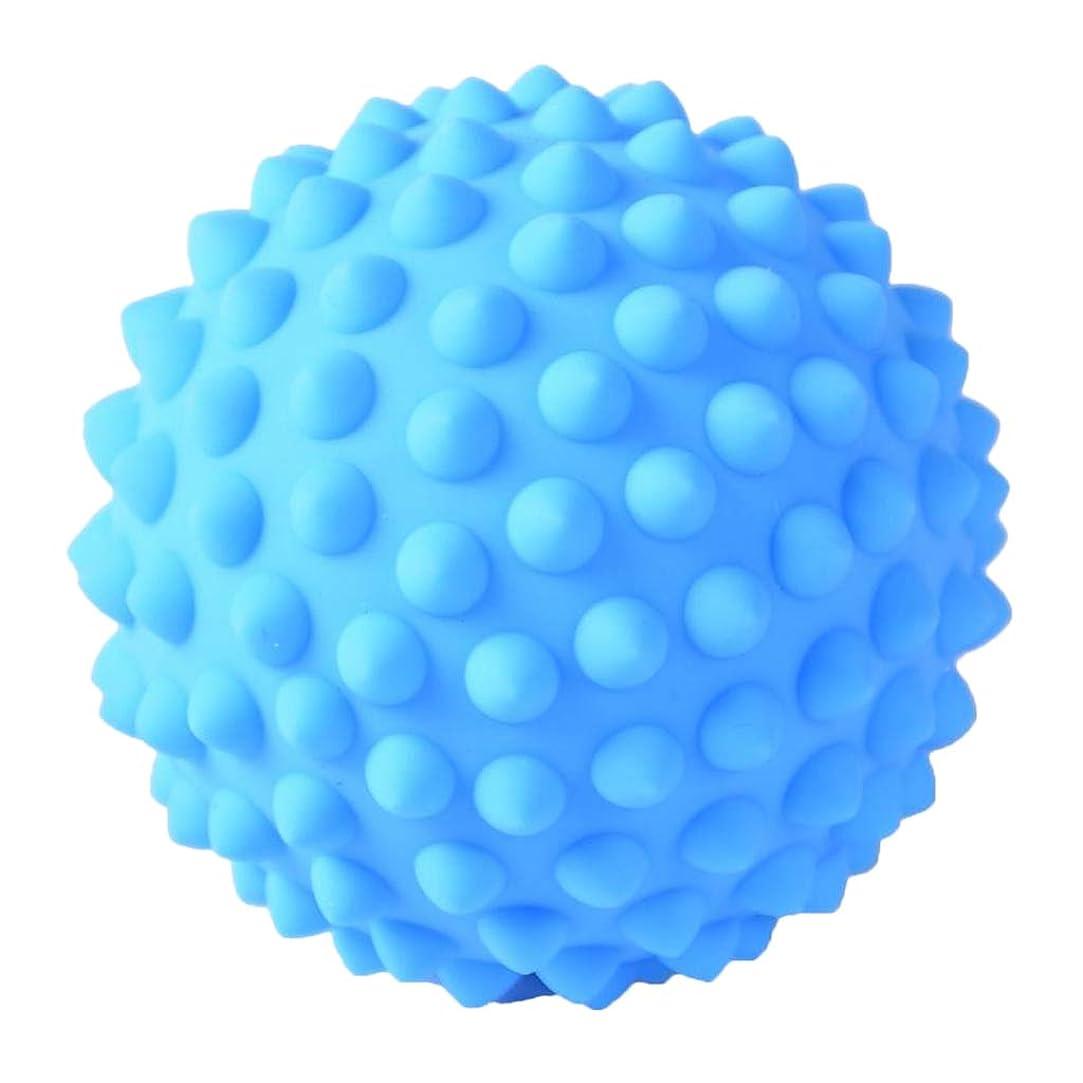 墓地安いですれんがD DOLITY マッサージボール PVC製 約9 cm 3色選べ - 青, 説明のとおり