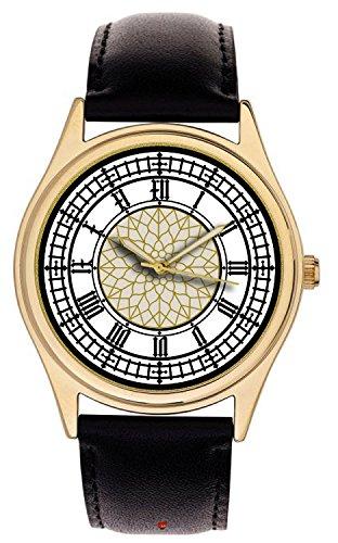 El Poco Bigben Interactive. Beautiful British Arte Big Ben Reloj Dial Coleccionable 40mm latón Reloj de Pulsera
