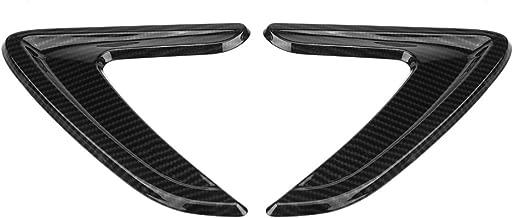 Qiilu Car Side Air Vent Cover Trim Side Fender Sticker Decorative Cover for BMW 3 Series F30 F35 316I 320I 328I 330I 335I 2012-2018 (Carbon Grain)
