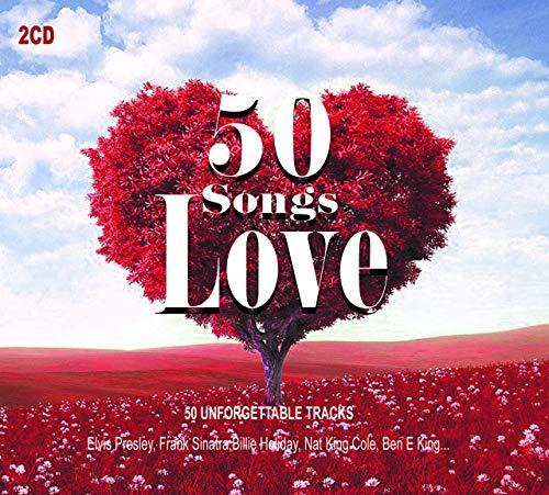 50 Love Songs - Musique d'Amour Romantic Music & Ballads - Love Me Tender, Stand by Me, La Vie en Rose…