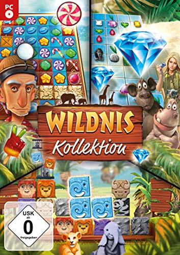 Wildnis Kollektion - 3 Spiele in einer Box für Windows 10 / 8.1 / 8 / 7