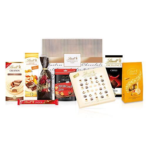 Lindt Frühlingsgefühle Schokoladen Box, verführerische Spezialitäten u.a. Lindor Kugeln, Excellence, Pralinen, Sticks - Perfekt als Geschenk (960g)