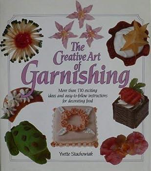 Hardcover Creative Art of Garnishing Book