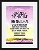 Stick It On Your Wall Gerahmtes Mini-Poster Florence and
