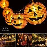 Best Pumpkin Navigations - Pumpkin Lights Halloween String light- 10ft 15 LEDs Review