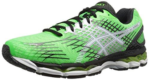 ASICS Men's Gel-Nimbus 17 Running Shoe,Carbon/White/Black,10 M US
