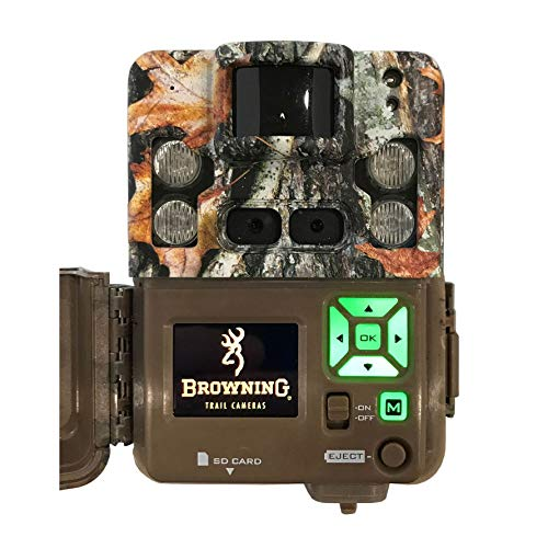 Browning Trail Cameras Strike Force Pro XD Dual Lens Trail Camera BTC-5PXD, Camo