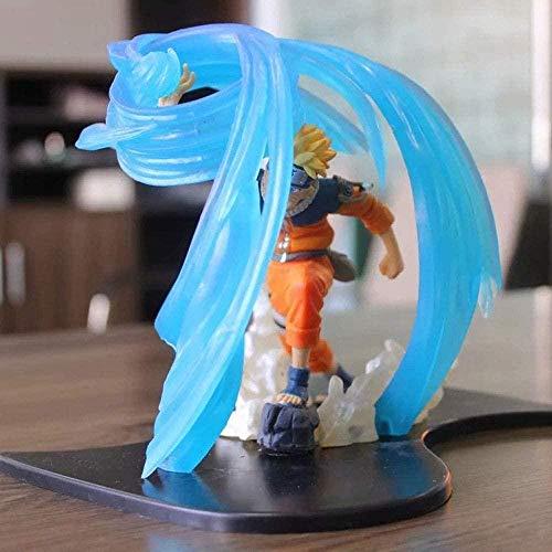 XSLOP Naruto Anime Bondage Helix Maru Uzumaki Naruto Figur Puppe Dekoration Premium Version Statue Puppe Skulptur Spielzeug Dekoration Modell Puppe Höhe 15cm