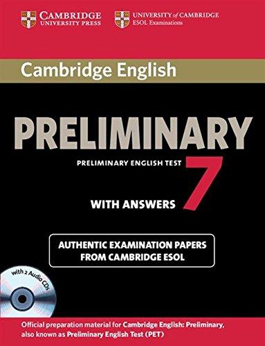 Cambridge ESOL: Cambridge English Preliminary 7 Student\'s Bo (Pet Practice Tests)