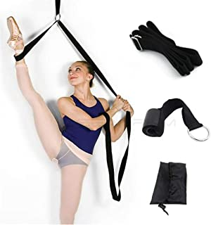 Leg Stretch Band - Door Flexibility Trainer, Improve Leg Stretching Foot Stretcher Band, Perfect Home Equipment for Ballet...