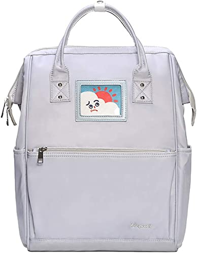 Teng Peng Student Bag College Wind Modetrend Einfache Wasserdichte verschlei ste Reiserucksack Sü Umh etasche Weißich Rucksack (Farbe   B)