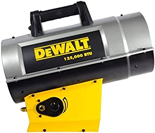 DeWalt DXH125FAV Forced Air Propane Heater