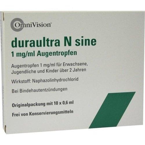 DURAULTRA N sine Augentropfen 10X0,6 ml