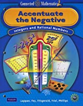 CONNECTED MATHEMATICS GRADE 7 STUDENT EDITION ACCENTUATE THE NEGATIVE (Connected Mathematics 2)