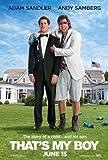 Eso es my Boy (2012) 27x 40Póster de la película Adam Sandler, Andy samberg, Leighton Meester, vainilla hielo, James Caan por mg 1