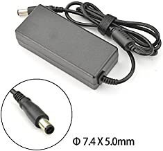 65W Laptop Charger AC Adapter for HP Pavilion G4 G6 G7 M6 DM4 DV4 DV5 DV6 DV7 G60 G61 G72; EliteBook 2540p 2560p 2570p 2730p 2740p Power Supply Cord 18.5v 3.5a