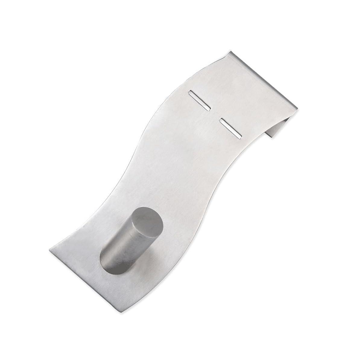 失望デコードする上昇Lszdp-store ステンレス鋼フックキッチンドアハンガー強力な耐荷重シングルフック浴室リビングルーム釘なし ハンガータオル掛け