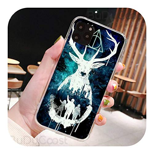 Ricci Hogwart Harry Potter Comic DIY Phone Case For iPhone 7 8 Plus X XS Max XR Coque Case For iPhone 5s SE 2020 6 6s 11 Pro 12-a7-For iPhone 6 6s