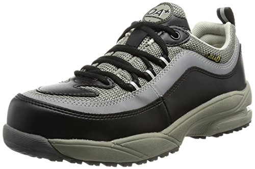 [ドンケル] Dynasty 安全靴 スニーカー 軽量 耐油 耐滑 かかと衝撃吸収 JSAA A種 DA+28 メンズ ブラック・グレー 24
