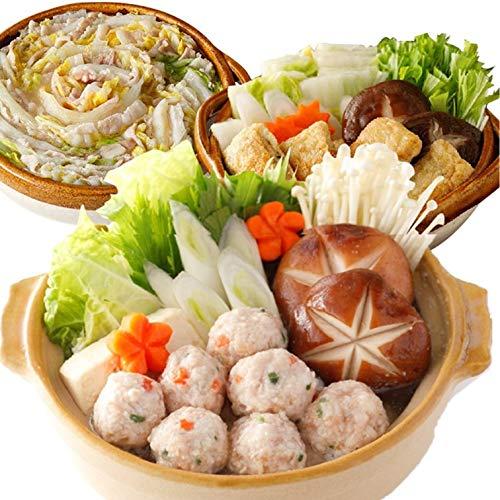 [スターゼン] 鍋 セット 3種 1.5kg 鶏生だんご いなり餃子 豚ばら 業務用 大容量 鍋 おでん 冷凍 冷凍食品 肉 おかず お惣菜