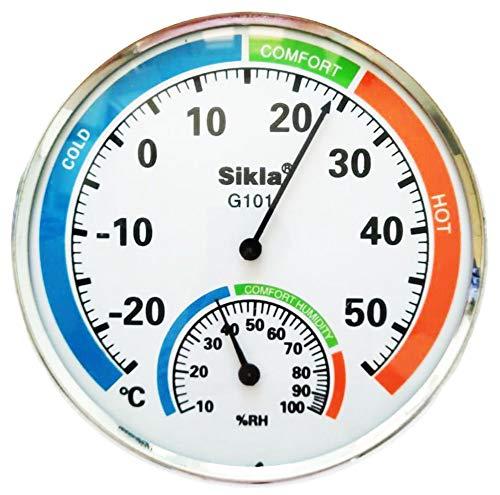 Termometro Analogico per Ambienti Domestici, Igrometro, Temperatura e Umidità
