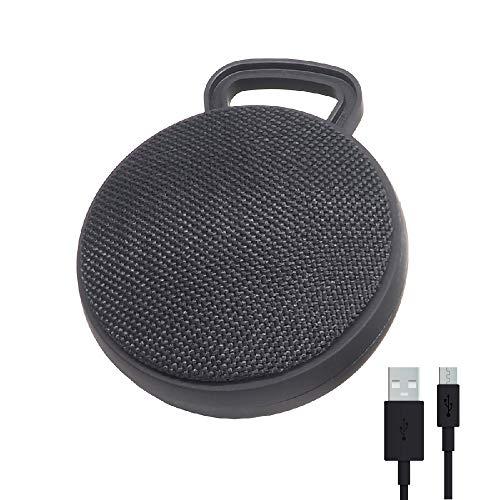 Altavoz portátil Bluetooth Negro RAYPOW · Mini Altavoz con Panel para controlar música, micrófono y Radio, para Teléfono Inteligente, Tablet, Ordenador