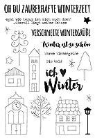 ドイツの家透明クリアシリコンスタンプ/DIYスクラップブッキング/ poアルバム用シール装飾クリアスタンプG129