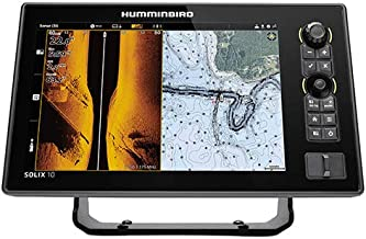 Humminbird SOLIX 12 G2 Fish Finder with Chirp, Mega Si+, GPS, and 12.1-Inch-Display