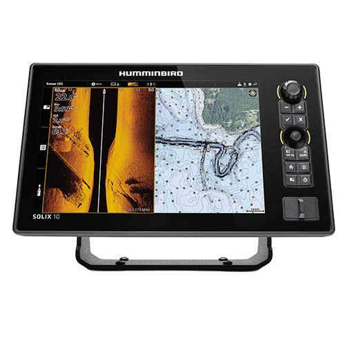 Humminbird SOLIX 12 G2 Fish Finder with Chirp, Mega Si+, GPS, and 12.1-Inch-Display