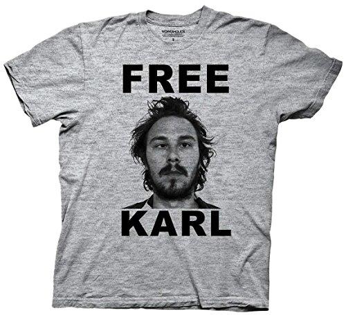Workaholics Free Karl Adult Shirt (Large)