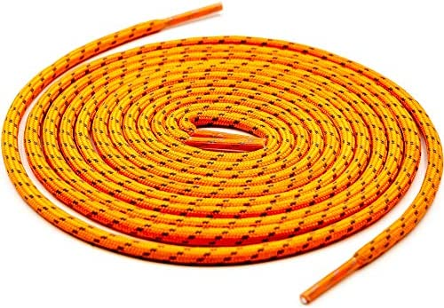 Teeoff Round Athletic Shoelaces Reflective Shoe Laces for Sneakers 47 2 Orange product image