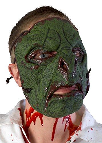 Ork-Trophäenmaske LARP Orkmaske Orkgesicht aus Latex Faschingskostüm Halloween