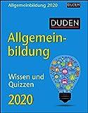Duden Allgemeinbildung Duden. Tischkalender 2020. Tageskalendarium. Blockkalender. Format 11 x 14 cm - Harenberg