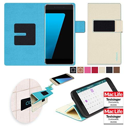 Hülle für Ulefone Future Tasche Cover Hülle Bumper   Beige   Testsieger