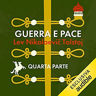 Guerra e pace 4                   Di:                                                                                                                                 Lev Nikolaevič Tolstoj                               Letto da:                                                                                                                                 Gino La Monica                      Durata:  16 ore e 30 min     12 recensioni     Totali 4,1