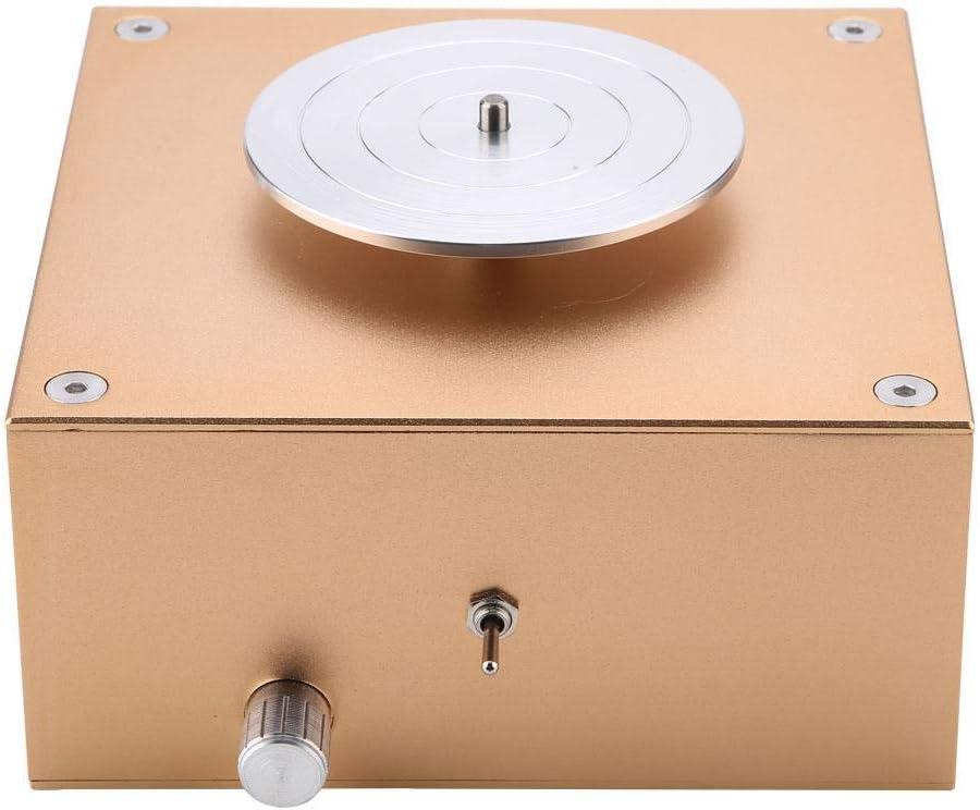 Durable//Flexible///à Faible Bruit Sorand Roue de poterie Argile 12V 1500RPM Faisant la Machine de poterie en c/éramique Artisanat de Bricolage 100-240V EU Plug 100-240V