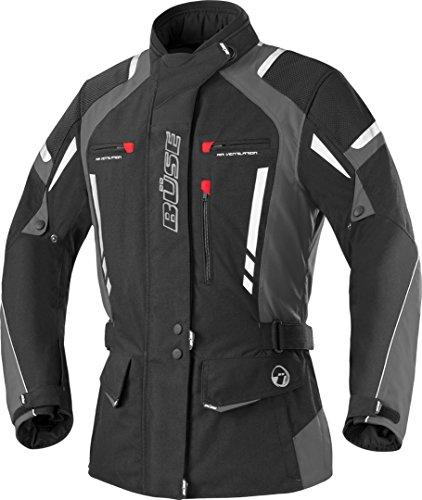 Büse Torino Pro Damen Motorrad Textiljacke 52 Schwarz/Dunkelgrau