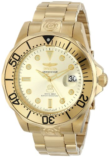 """Invicta Men's 3051 """"Pro Diver Collection"""" Stainless Steel Automatic Dive Watch"""