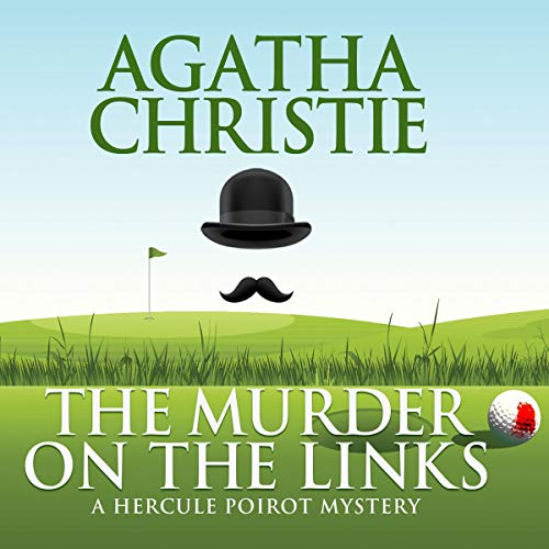 The Murder on the Links audiobook cover art