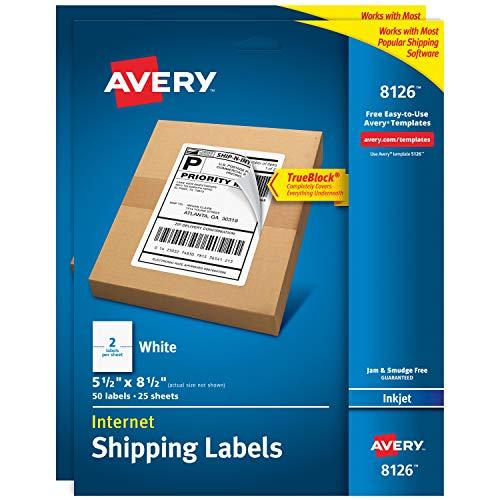 Laser & Inkjet Printer Labels