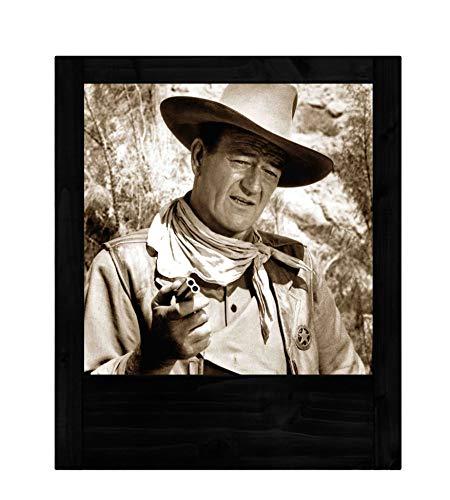 Lámpara negra John Wayne