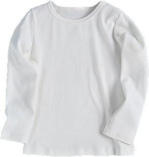 86199386b8043 Enfant arcon Fille sous-Pull Tee Shirt a Manche Longue Col roulé Hauts