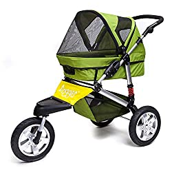 Dogger pet stroller suitable for running or jogging. Rugged and versatile