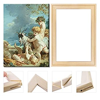 Art Stretcher Bars Number Painting 16x20 inch Solid Wooden Frame for Oil Paintings Canvas Frame Set DIY Arts Accessory Supply Home Studio Decor
