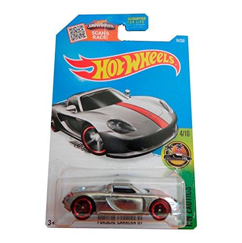 Hot Wheels Porsche Carrera GT Zamac Carta Larga 2017 HW Exotics