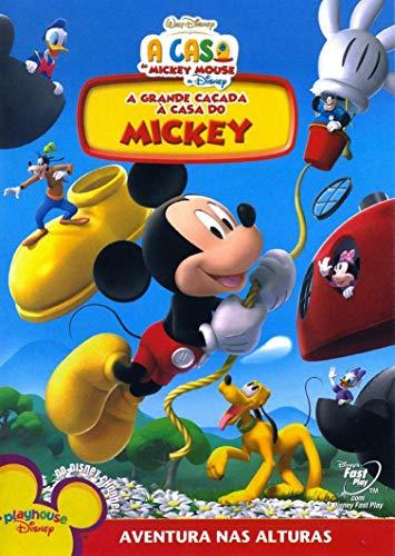 DVD Disney - A Grande Caçada À Casa Do Mickey