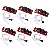 HONG111 6Pcs Optical Endstop Limit Light Control Switch with Cable Control Limit Switch fo...