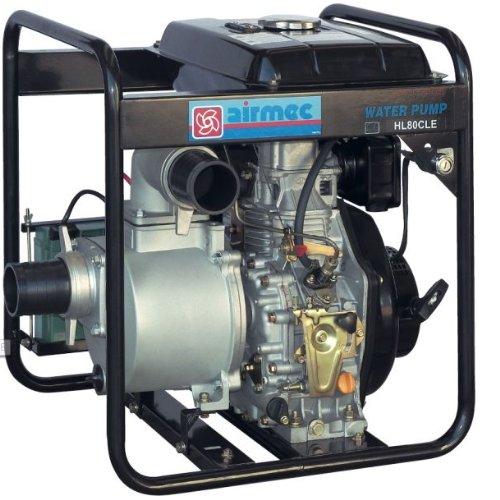 AIRMEC Speroni – Motobomba de disel autoaspirante HL 80 CLE 1000 l/min. – 31 m